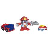 Boneco Sr.cabeça De Batata Transformers Com 2 Fantasias - He