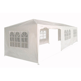 Carpa Toldo 9x3 Plegable Lona Impermeable 3 X 9 Pared Jardin