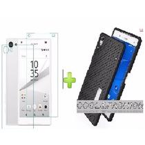 Funda Rigida Anticalor + 2 Micas Cristal Sony Z5 Premium