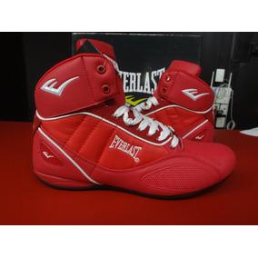 Zapato P/box O Casual Everlast Rojo/blanco Caballero Y Dama