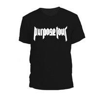 Remera Justin Bieber Purpose Tour