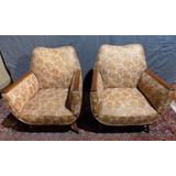 venecia hermoso par de sillones gondola retro vintage