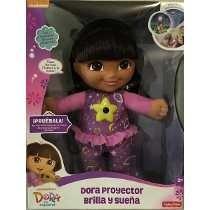 Dora La Exploradora, Proyector Brilla Y Sueña Fisher Price