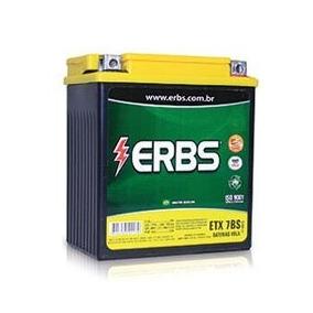 Bateria P Moto Erbs Xlr 125r / Tr 200 / Vfr 400r - 7 Amperes