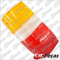 Lente Lanterna Traseira Lado Esquerdo L200 Gl/ Gls (91/07)