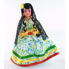 Muñeca Con Traje Típico De Coahuila