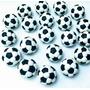 Kit 30 Lembrancinhas Bola De Futebol Em Massa De Biscuit 3cm