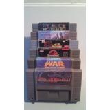 Fitas/cartuchos/jogos De Super Nintendo(promoção) Snes Antig