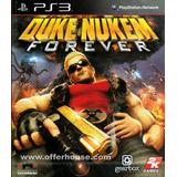 Duke Nukem Forever Para Ps3 Completamente Nueva
