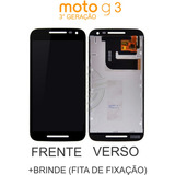 Display Moto G3 Tela Touch Lcd Motorola Xt1543 Xt1544 Preto