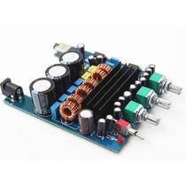 Kit Placa Amplificador Digital 2.1 50w + 50w +100w=200w Rms