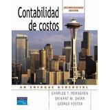 Contabilidad De Costos 12va Ed. Horngren
