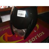 Cubre Optica Zanella Zr125/ztt200 Negro Completo Mtc Motos