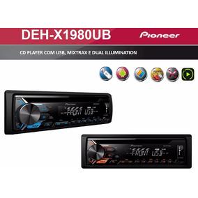 Cd Pioneer Deh-x 1980 Usb Frontal Mixtrax Dual Iluminnation