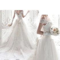 Vestido De Noiva Princesa Novo Oferta