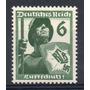 Reich 1937 Mi 644** Yv 592 Mint Propaganda Antiamericana
