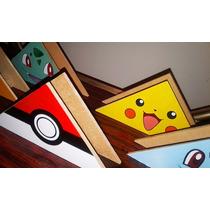 Servilletero De Pokemon - Infantil - En Fibrofacil