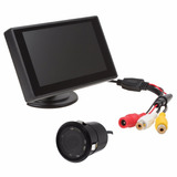 Kit Pantalla Monitor 4.3 Y Camara Marcha Atras Entrada Rca