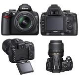 Câmera Fotográfica Nikon D5000 Corpo, Lente E Brindes