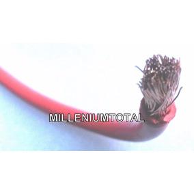 Cable Automotriz N 4 Para Arranque Planta Electrica Sonido