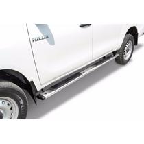 Estribos Acero Inox 5 (nissan Ford Chevrolet Chrysler....)