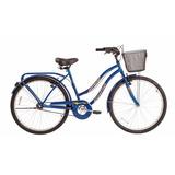 Bicicleta Rodado 26 Playera Paseo Dama Mujer Halley 19353