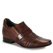 Sapato Social Aumenta Altura Masculino Rafarillo - Caramelo