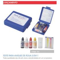 Kit Teste Ph, Residual De Cloro E Alcalinidade Total.