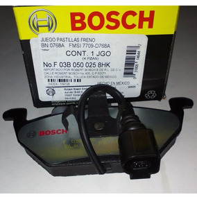 Balatas Delanteras Cerámicas Bosch Vw Jetta A4 2.0l 2000