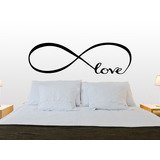 Bondai Vinilo Decorativo Dormitorio Respaldo Cama Love Amor