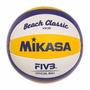 Bola Oficial De Volei De Praia Mikasa Vx30