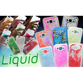 Funda Case Liquid Glitter Galaxy J5 Y Grand Prime / Plus