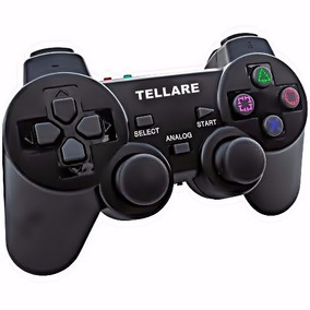 Controle Ps3 Lacrado S/ Fio Ps3, Ps2,pc Dualshock Playstatio