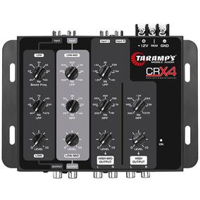 Crossover Eletrônico Taramps Crx4 De 4 Vias Crx 4 Automotivo
