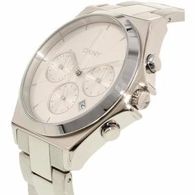 Reloj Dkny Ny2378 Plateado Original Para Hombre Envío Gratis