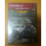 Socom 3 Ps2 (sellado)