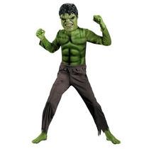 Hulk - Avengers Vestuario Básico Niño Pequeño Tamaño (4-6)