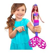 Barbie Sirena · Hace Burbujas Con Su Cola Mattel · Croak
