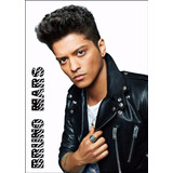 Poster Cartaz Bruno Mars Foto Hd 60x84cm Papel Decorar Sala
