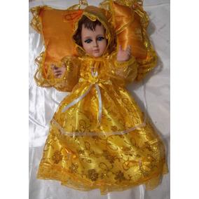 Vestido Para Niño Dios De 30cm, 35cm Organza Gliter