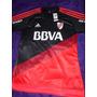 Camiseta De River 2015 Negra Y Roja - Nueva Y Original