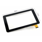 Tela Touch Tablet Bravva Planet Tab Bv-4000sc Bv-4000dc