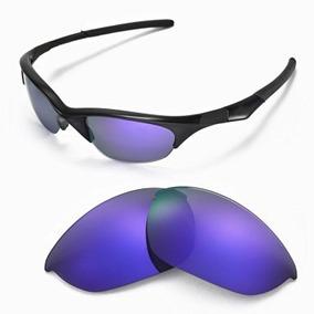 Lentes De Repuestos Walleva Gafas Oakley Jacket Púrpura Coa