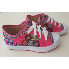 Tenis Infantil Feminino Casual Monster High