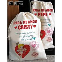 Costal San Valentin Personalizado Para Regalo 14 De Febrero