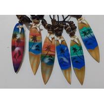Cordão Encerado Prancha Surf Madeira Regulável C/ Osso (cl8)