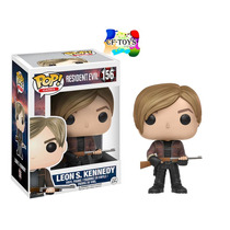 Resident Evil Leon Funko Pop Juego Resident Evil Ps4 Xbox Cf
