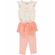 Vestidito Enterito Body Carters Bebes Nenas Princesa Set