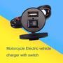 Cargador Usb Universal Para Todas Las Motos Con Switch