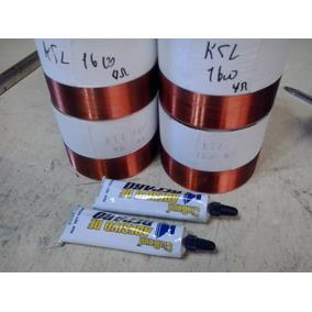 Kit 4 Bobinas P Ksl 1600 4 Ohms